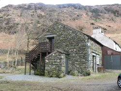 One of the huts in Langdale