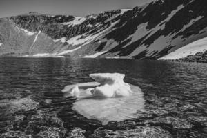 1. Landscape – UK A small iceberg in Loch Coire an Lochain, Braeriach2019 Photo Competition Winner UK Landscape