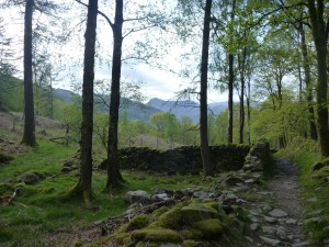 On bike ride from the Loft from Little Langdale to the slate